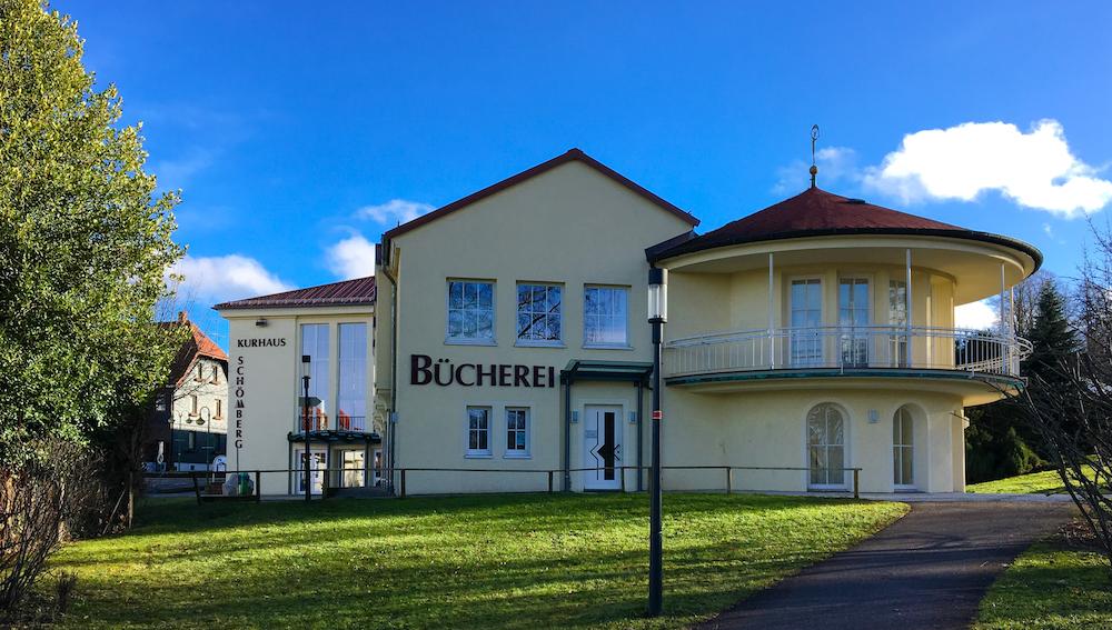 Bücherei im Kurhaus in Schömberg Kreis Calw