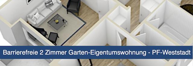 Eigentumswohnung in Pforzheim-Weststadt