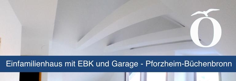 Einfamilienhaus EFH Pforzheim Büchenbronn Immobilie mieten