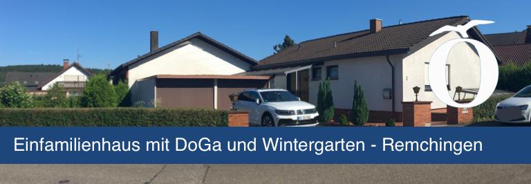 Einfamilienhaus mit Doppelgarage und Wintergarten in Remchingen Enzkreis demnächst zu verkaufen
