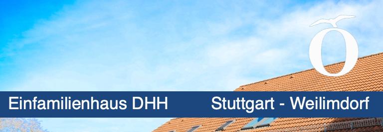Einfamilienhaus Doppelhaushälfte Stuttgart Weilimdorf