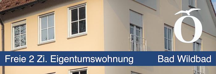 Eigentumswohnung ETW Bad Wildbad Calmbach Immobilien Immobilienmakler