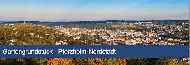 Gartengrundstück in Pforzheim-Nordstadt