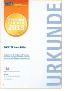 ImmobilienScout24 Premium-Partner 2013
