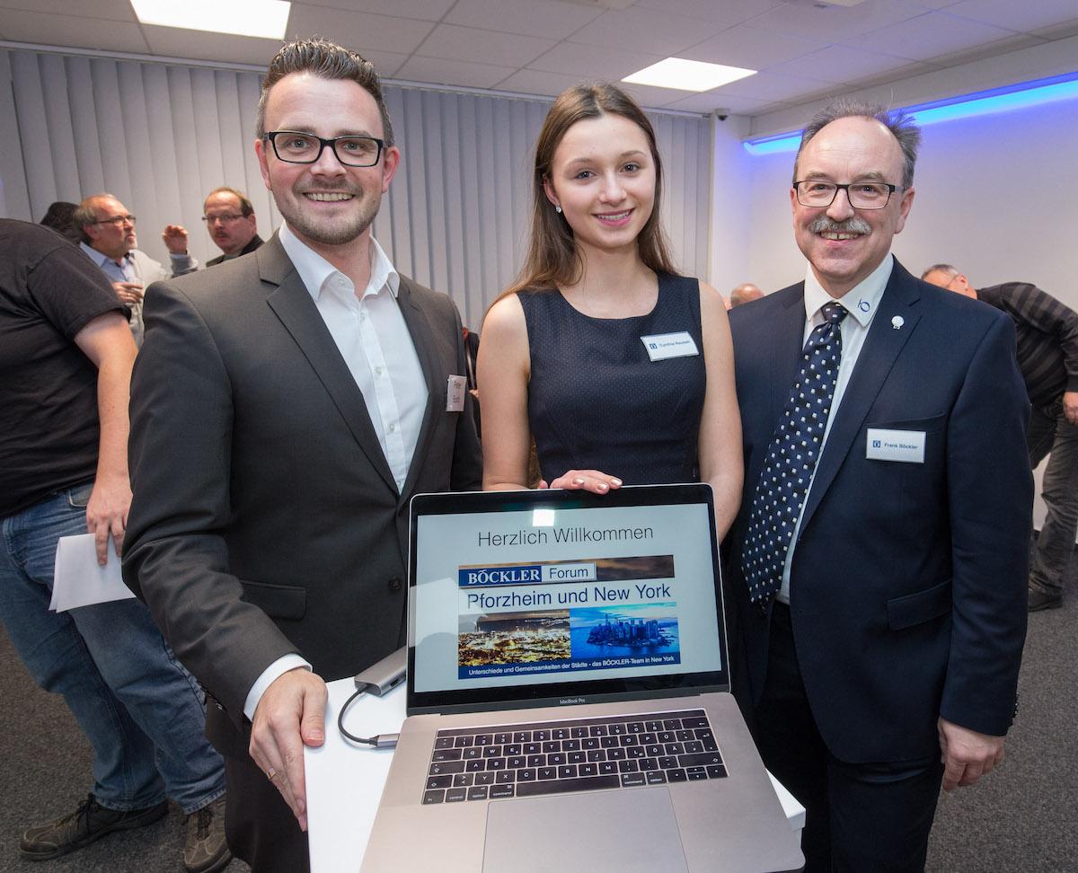 OB Peter Boch zum Gast beim Böckler Immobilien Forum mit Cynthia Reubelt und Frank Böckler