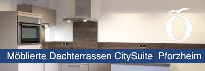 Möblierte 2 Zimmer City Suite Pforzheim Innenstadt zu vermieten