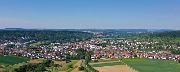 Luftbild Niefern