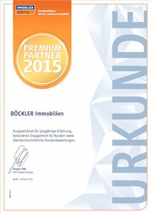 ImmobilienScout24 Premium-Partner 2015