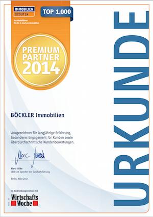 ImmobilienScout24 Premium-Partner 2014