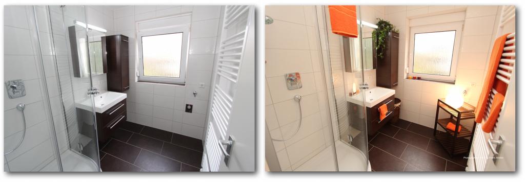 Home-Staging für ein Badezimmer