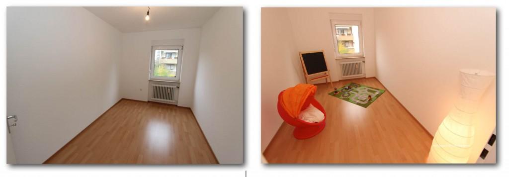 Home-Staging für ein Kinderzimmer