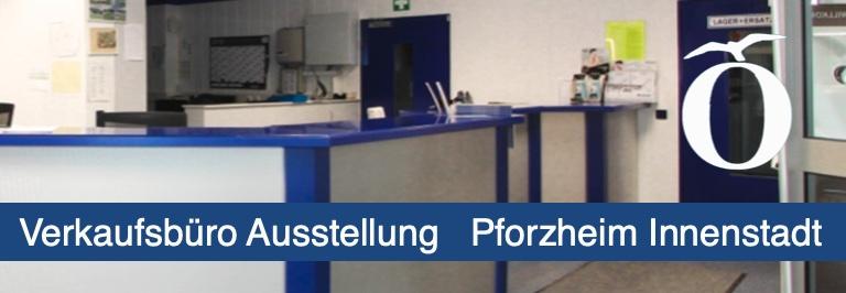 Verkaufsbüro Ausstellung Praxis Pforzheim Innenstadt Immobilie mieten