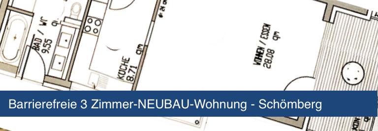 Neubauwohnung in Schömberg