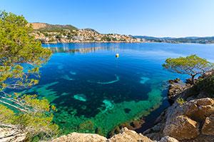 Bucht Cala Fornells Mallorca