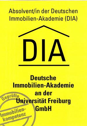 Absolvent der DIA