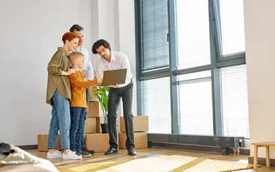 Durch die professionelle Besichtigungsführung der albfinanz werden Fehler vermieden und immer ein positiver Gesamteindruck hinterlassen.