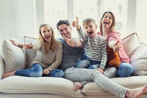 Mit dem richtigen Immobilienmakler ist die ganze Familie glücklich