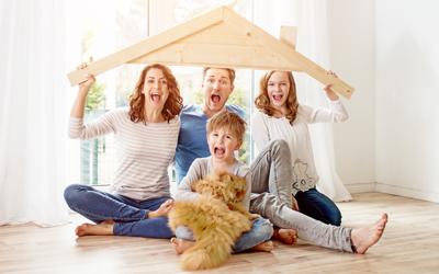 albfinanz Ferienwohnung Vorteil 4: Viel Wohnraum – perfekt für Familien mit Haustieren