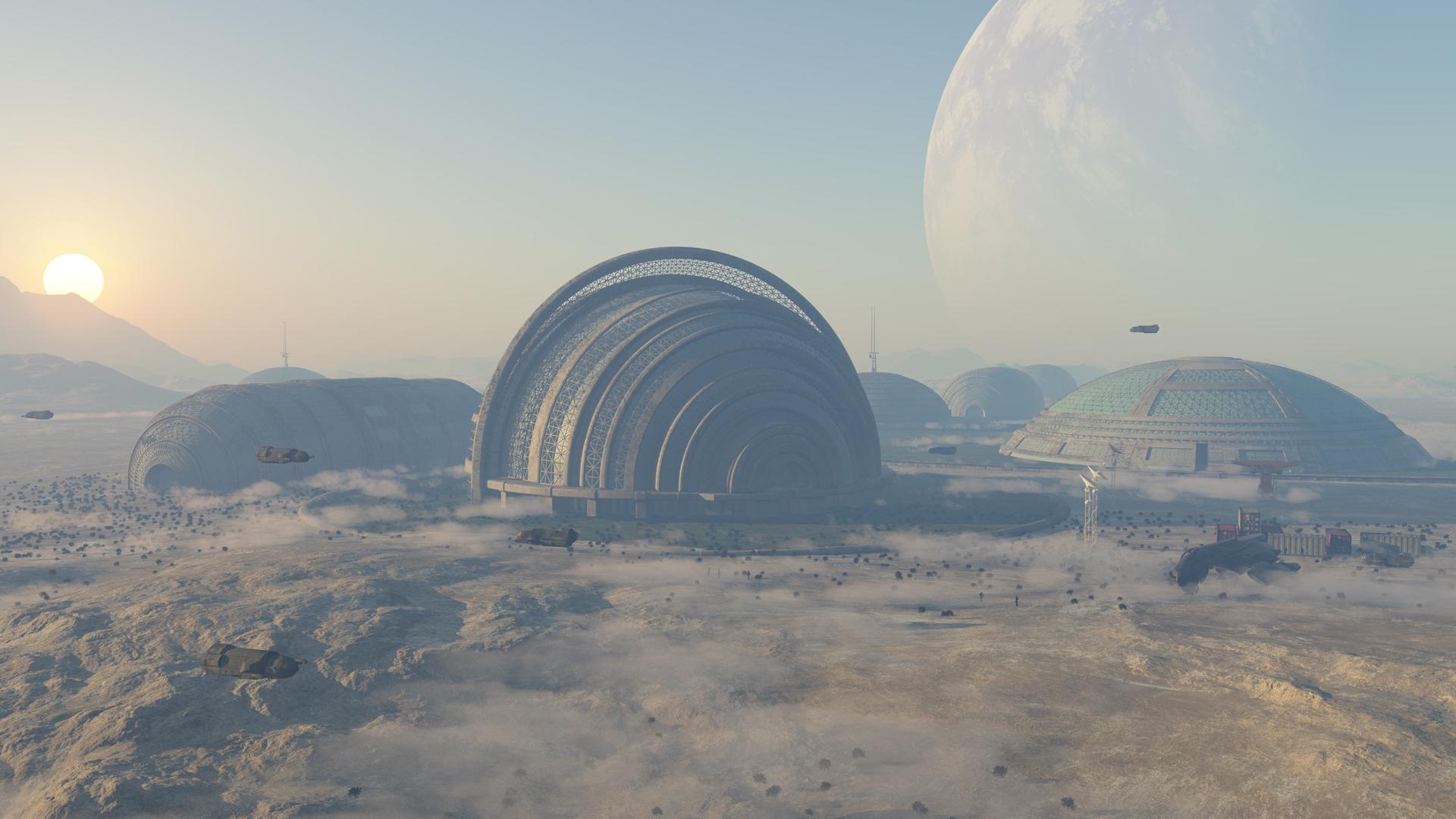 Immobilien auf dem Mars