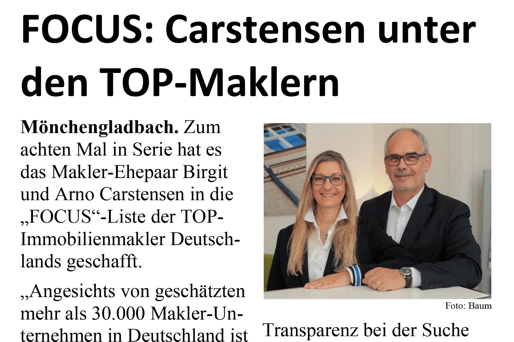 Focus Top-Makler Carstensen