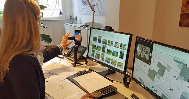 Online Bewertung per Video-Konferenz Carstensen