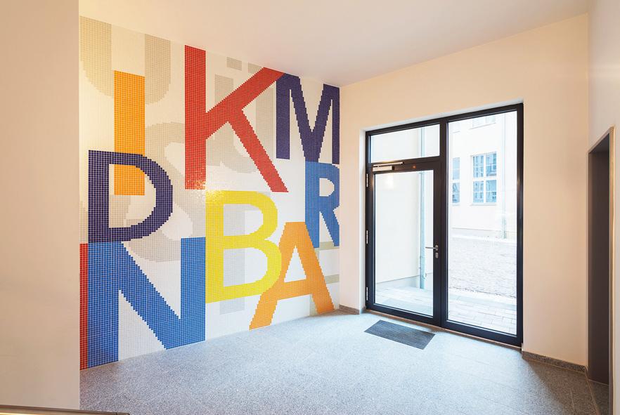 Kunst an der Immobilie Mönchengladbch