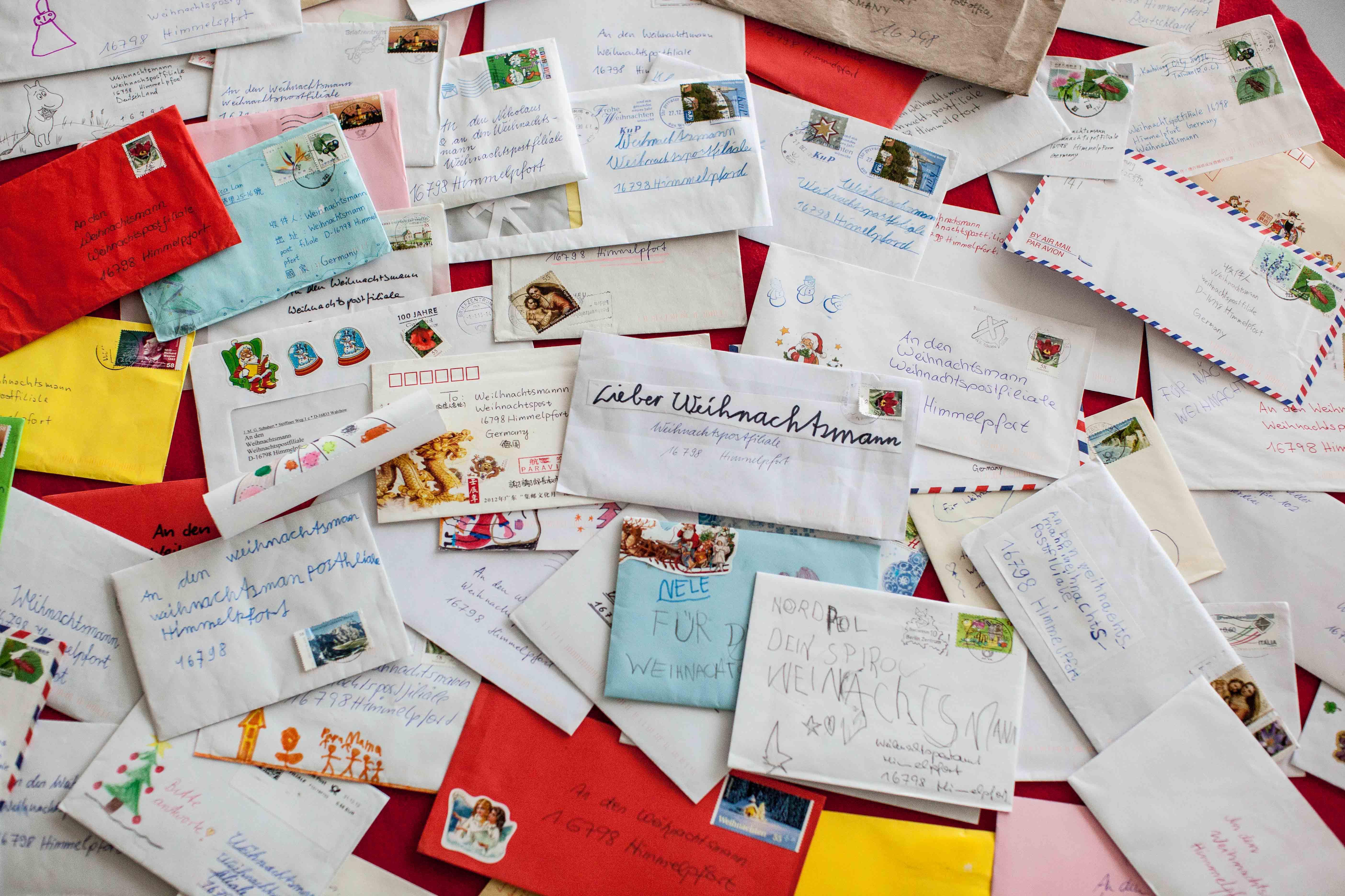 Briefe Weihnachtsmann Mönchengladbach
