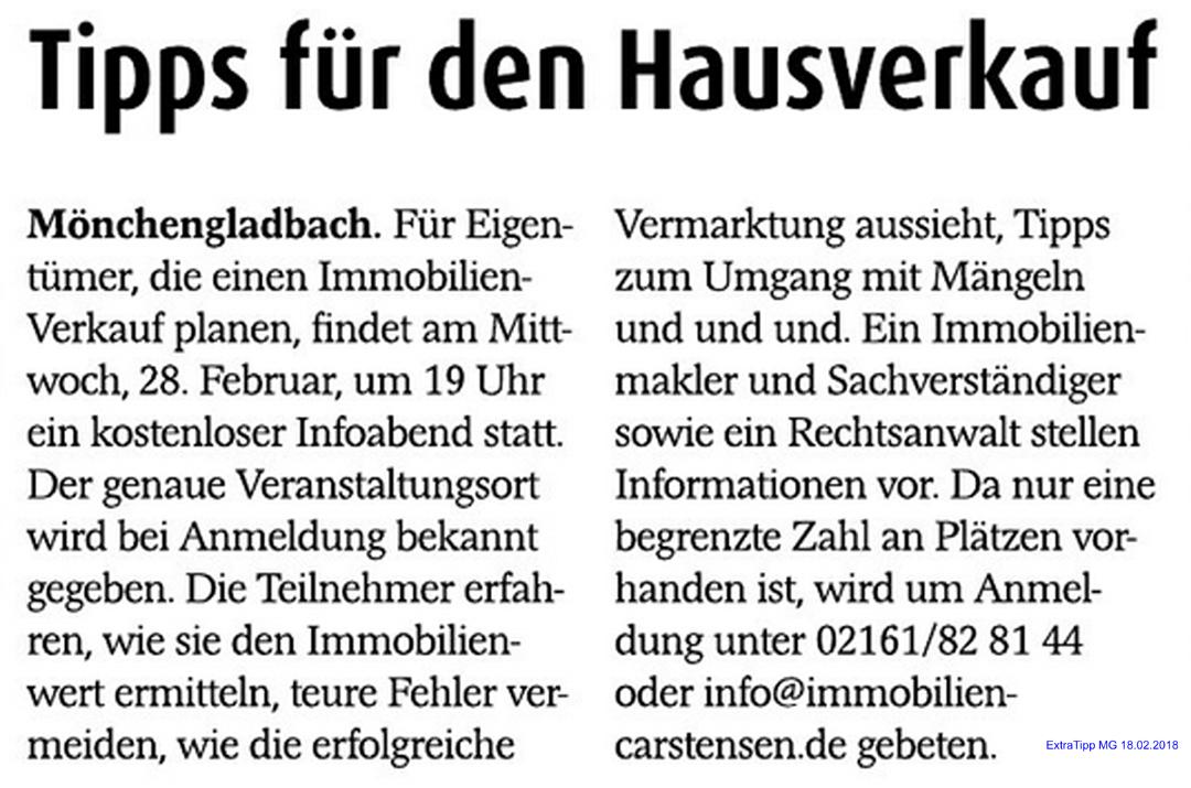 Infoabend Hausverkauf Mönchengladbach