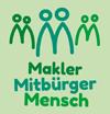 Makler Mensch Mitbürger Logo