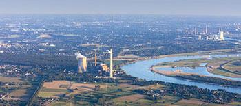 Rhein bei Rheinberg-Orsoy