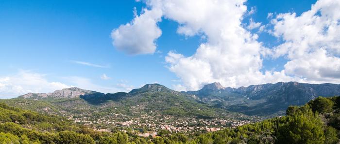 Gebirge auf Mallorca