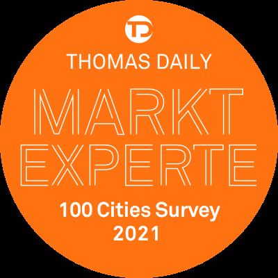 Thomas Daily - Marktexperte für Lübeck: 100 Cities Suvey 2021