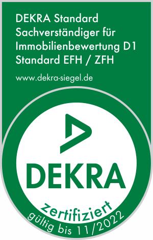 DEKRA Siegel Immobilienbewertung Lüneburg