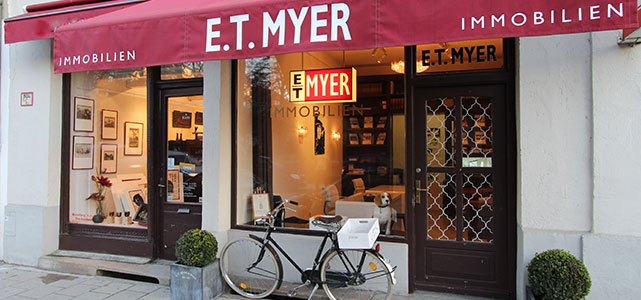E.T. Myer Außenansicht Büro