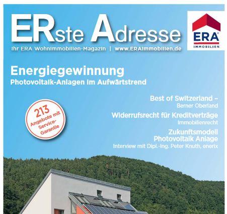 Kundenmagazin Immobilien verkaufen mit ERA WohnHausImmobilien