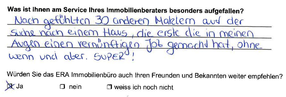 Kauf Einfamilienhaus Fredersdorf