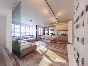 helle Wohnung