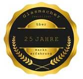Medaille 25 Jahre Glasmacher Immobilien