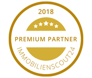 Medaille Premium Partner Immoscout24