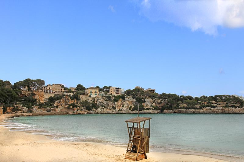Strand bei Porto Cristo