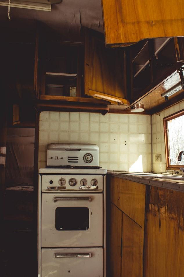 Wohnwagen Wohnmobil kleines Haus Tiny House