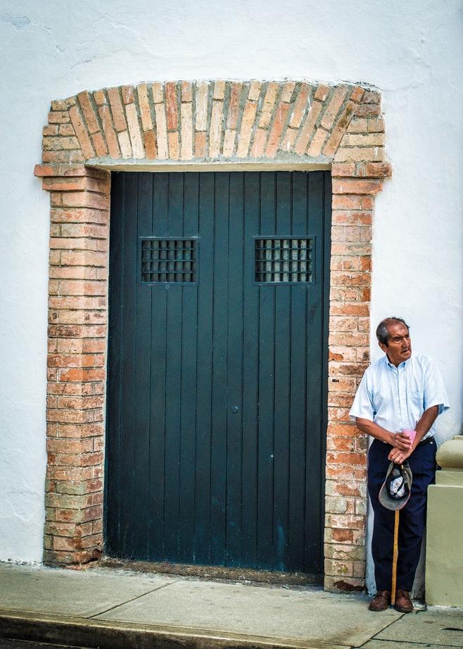 Haus Altersvorsorge Wand