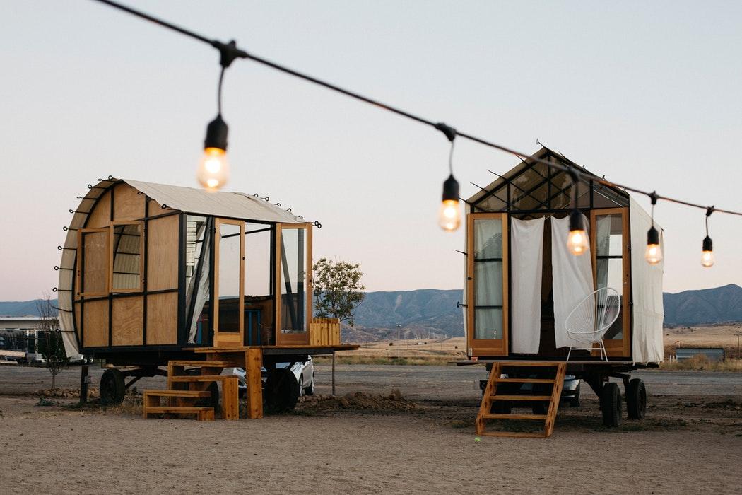 Tiny Houses Häuser zuhause auf Rädern