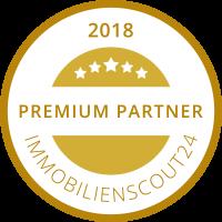Gütesiegel Premiumpartner Immobilienscout24