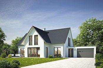 Helles Einfamilienhaus mit Garage