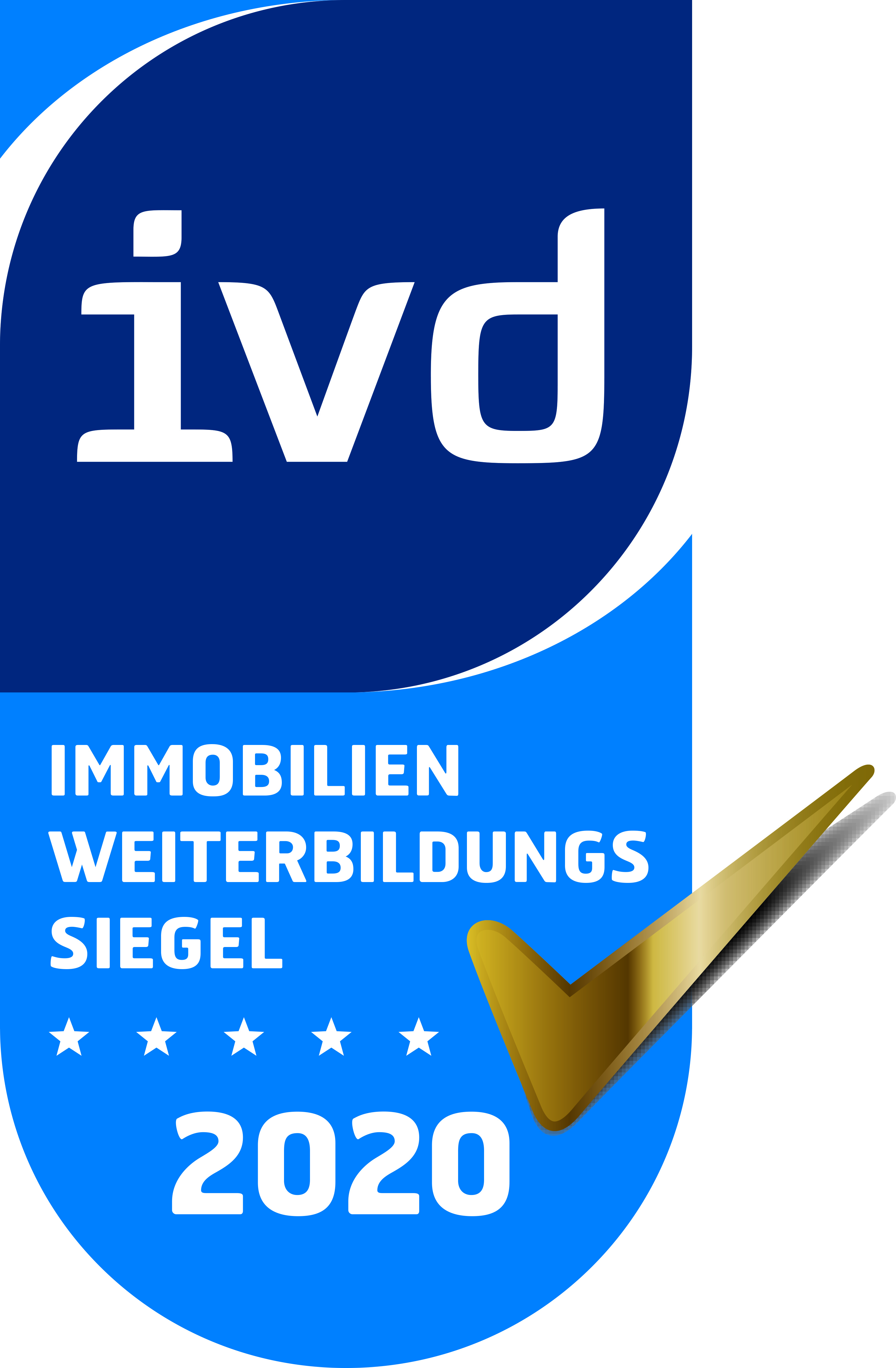 ivd Immobilienfortbildungszertifikat 2020