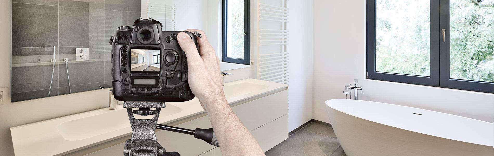 Darstellung einer Immobilienfotografie