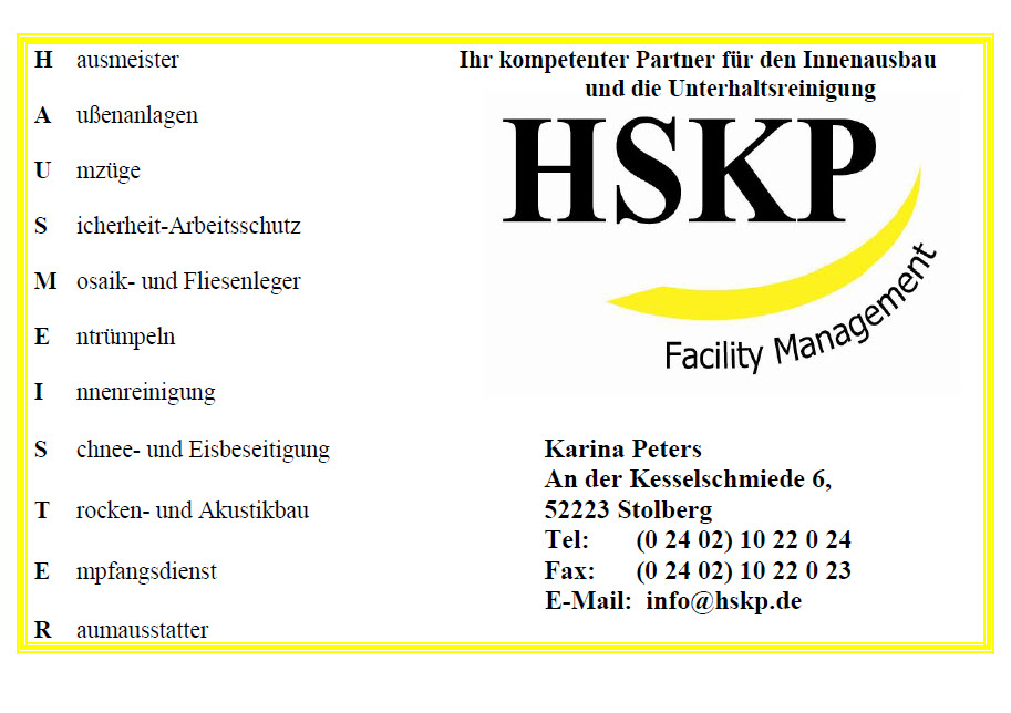 HSKP - Facility Management