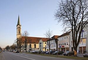Kirche in Plattling