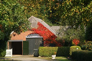 Landhaus in der Natur